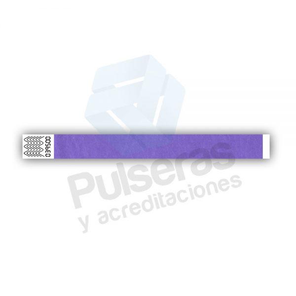 0f26c8e213d2 10000 pulseras tyvek morado 199€ - Pulseras y Acreditaciones