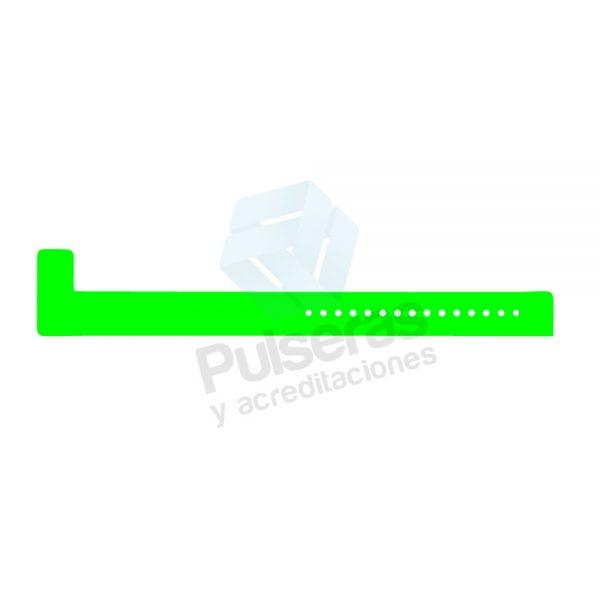 pulsera vinilo verde